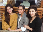 SANIA Mirza with Hocane Sisters at Lahore