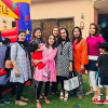 Sadia Imam with Her Daughter in Birthday Party