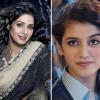 Giving A Tribute To Siri Devi Priya Prakash Sang A Song For Her