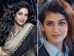 Giving A Tribute To Siri Devi Priya Prakash Sang A Song For Her