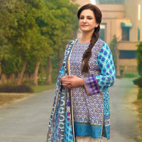 Premium Summer Lawn Collection 2018 by Gul Ahmed