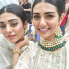 Sarah & Noor Khan in Maria B Eid Collection