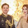 Aisha Khan and Major Uqabah Dance in Wedding