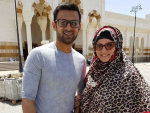 Shoaib and Sania Performing Umrah
