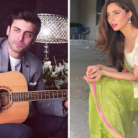 Fawad and Mahira Join for New Project