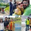 Nida Yasir & Family in Switzerland