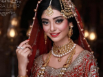 Noor Khan Gorgeous Bridal Look for Samira Bridal Campaign