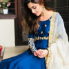 Maya Ali Looks Great in Blue & Gold Attire on Eid ul Azha 2018