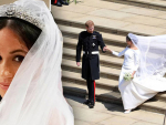 Meghan Wedding Dress Exhibits Today