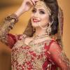 Zarnish Khan Bridal Photo shoot for Faiza Salon