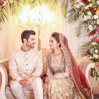 Aiman Khan And Muneeb Butt Wedding Pictures