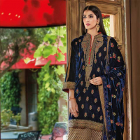 Noor-e-Chasham Velvet Formal Collection 2018 by Gul Ahmed