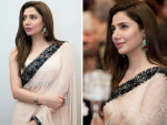 Mahira Khan Saree Pictures at Recent Event