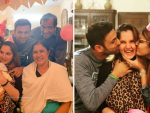 Sania Mirza Birthday Celebration with Family & Husband
