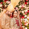 Aiman Khan And Muneeb Butt Baraat Ceremony Pictures