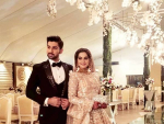 Aiman Khan and Muneeb Butt Reception Pictures