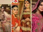 Aiman Khan and Minal Khan Bridal Shoot