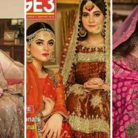 Aiman Khan and Minal Khan Bridal Shoot