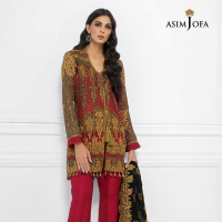Luxury Chiffon Collection 2019 by Asim Jofa