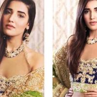 Hareem Farooq Wearing Reema Ahsan Bridal Jora