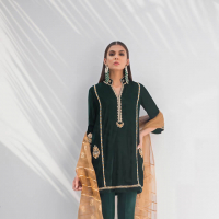 Sania Maskatiya LuLu Winter Festive Collection 2019