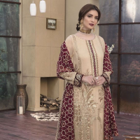 Motifz Chiffon Women Embroidered Collection 2019
