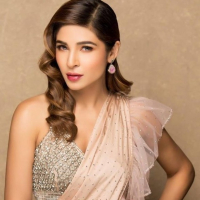 Ayesha Omer Stunning Saree Pictures