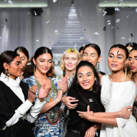 Mahgul Ebony and Ivory Collection at Pantene HUM Showcase 2019