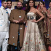 Mohsin Abbas Haider Amna Ilyas walked for Fahad Hussayn in PSFW 2019