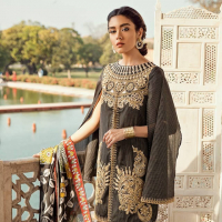 Cross Stitch 'Rani Bagh' Luxury Lawn Collection