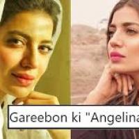 Model Rabia Butt Called 'Ghareebon Ki Angelina Jolie'