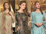 Ramsha Embroidered Chiffon Collection 2019
