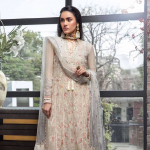 Maria Asif Baig 'Manara' Embroidered Chiffon Collection 2019