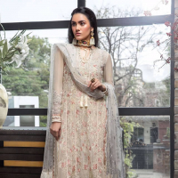 Maria Asif Baig 'Manara' Embroidered Chiffon Collection 2019