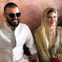 Hamza Ali Abbasi and Naimal Khawar Wedding