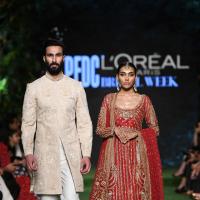 'DILARA' Bridal Dress Collection at PLBW 19 by Sania Maskatiya
