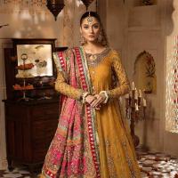 Maria B Wedding Wear Collection in Fashion Week 2019-20