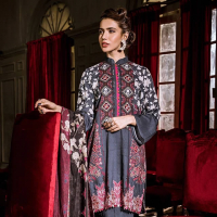 Printed Khaddar Shirt Collection 2019-20