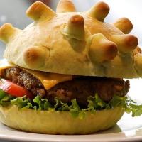 Introduction of Corona Burger after Coronavirus