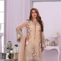 Flossie Embroidered Chiffon Collection 2020