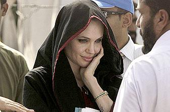 Angelina Jolie at American Church