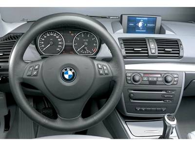 BMW X Series X1 Inside View
