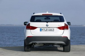 BMW X1 Backside View