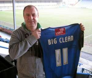 Big Clean Blue T Shirt