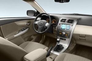 Corolla 2.0D Inside Front
