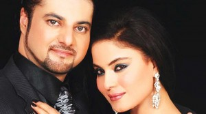 Faisal Akbar and Veena Malik