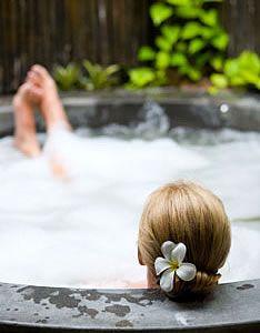 Girl in Bath Dub