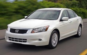 Honda Accord White Colour