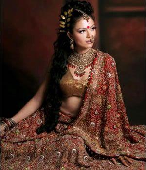 Hot Girl in Bridal Dress