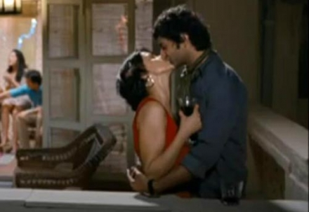 Hot Kiss Scene From Turning 30!!!